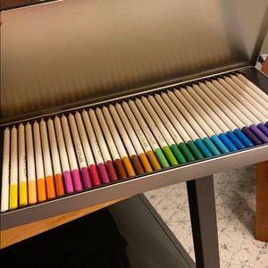 72 soft core colored pencils